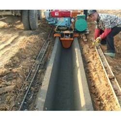 灌溉水渠成型机