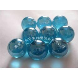海蓝玻璃球