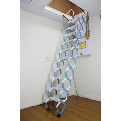 手动碳钢伸缩楼梯