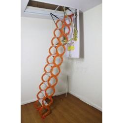 手动铝镁合金伸缩楼梯