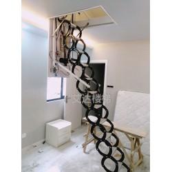电动铝镁合金伸缩楼梯