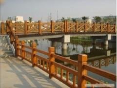 防腐木栈桥